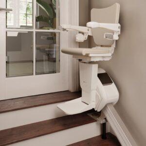 Treppenlift ohne Überhang